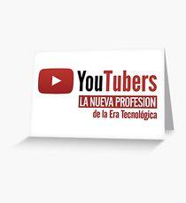 Youtubers La Nueva Profesión Greeting Card