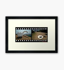 Taps & Drain,Sculptures By The Sea 2011 Framed Print