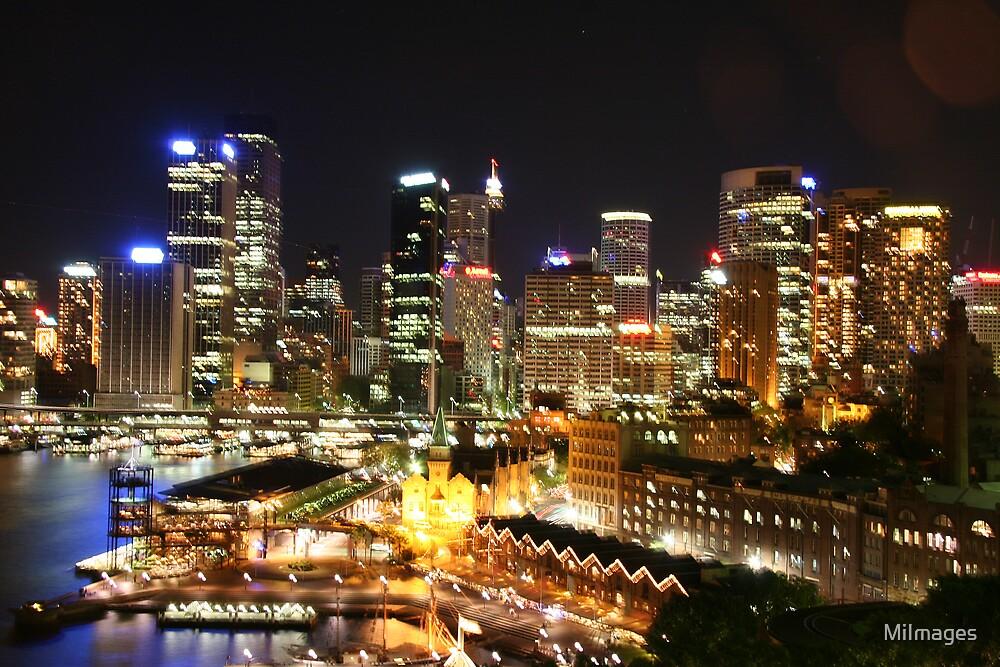 Sydney Nightlights No.2 by MiImages