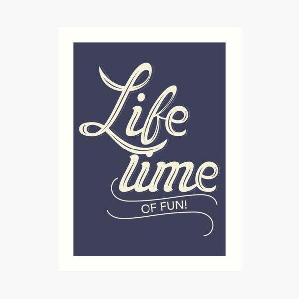 Do something fun! Art Print