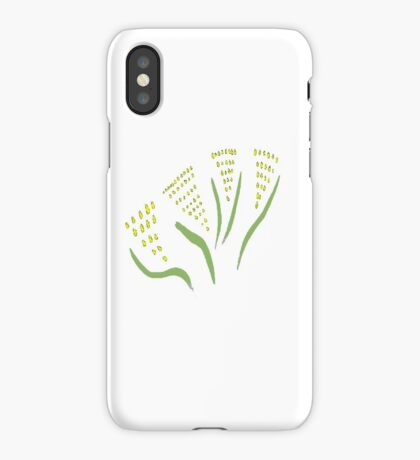 Green & Gold Bouquet iPhone Case/Skin