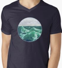 Ocean View Men's V-Neck T-Shirt