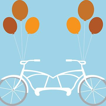 A Bicycle Built For Two  by HannahWoody