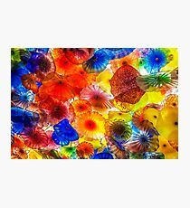 Stunning Chihuly Glass  Photographic Print