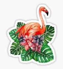 Fab Flamingos Sticker