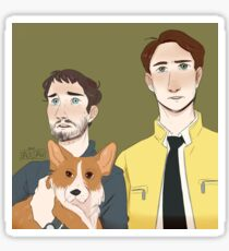 dirk gently holistic detective agency Sticker