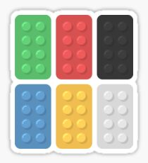 Building Blocks Sticker