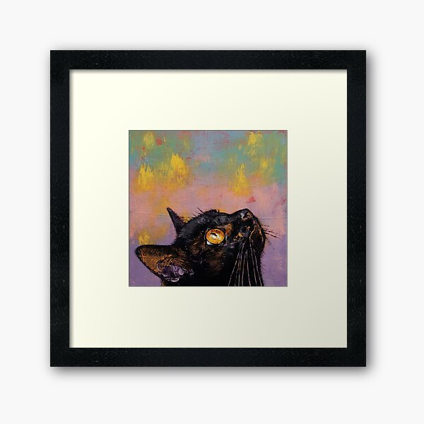 Fixed Gaze Framed Art Print