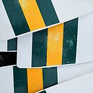 Australia - rowing blades by Chris Meredith