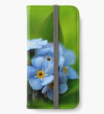 Forget Me Not iPhone Wallet/Case/Skin