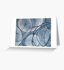 HELIX ~ SILVER STORM Greeting Card