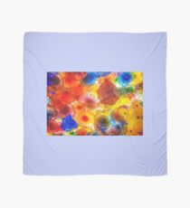 Colorful Chihuly Glass Patterns Scarf