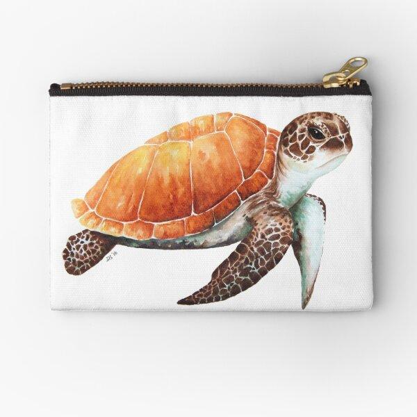 Sea Turtle Zipper Pouch