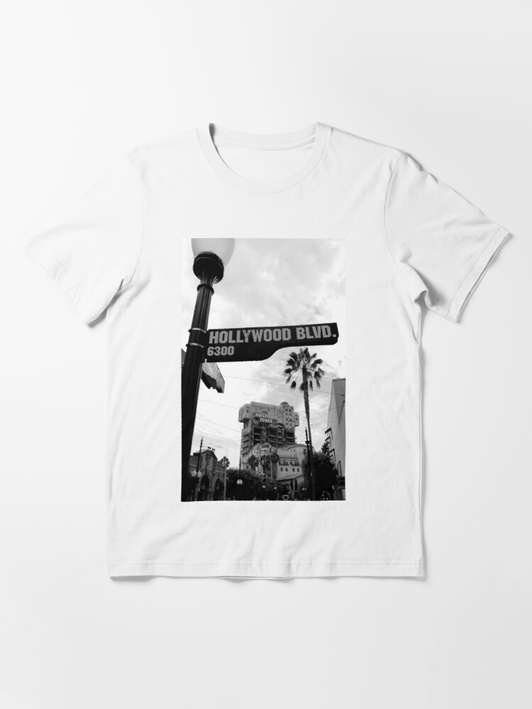 Alternate view of Hollywood Tower of Terror Essential T-Shirt
