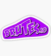 Brutes.io (Logo Pink) Sticker