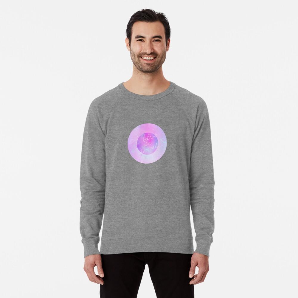 Ich glaube - galaktisch Leichter Pullover