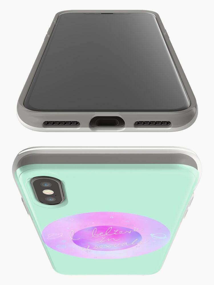 Alternative Ansicht von Ich glaube - galaktisch iPhone-Hülle & Cover