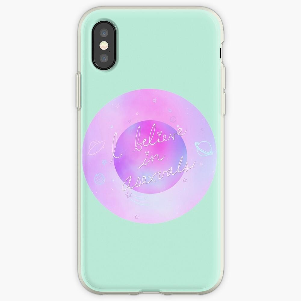 Ich glaube - galaktisch iPhone-Hülle & Cover