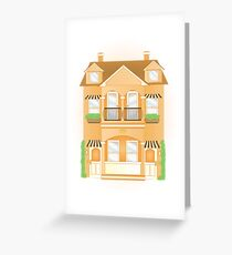 Townhouse Greeting Card