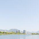 Peaceful Spring in Riverside Town by Yuko Yamada