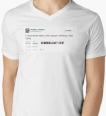 Donald Trump - Never Seen a Thin Person Drinking Diet Coke T-Shirt