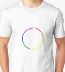 Rainbow Imperfect Circle Unisex T-Shirt