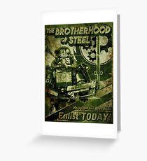Join the Brotherhood Greeting Card