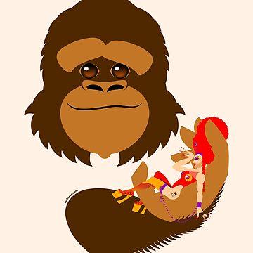 Queen & Kong by handcuffed