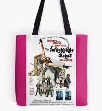 Switchblade Sisters Alt 2 (Pink) Tote Bag