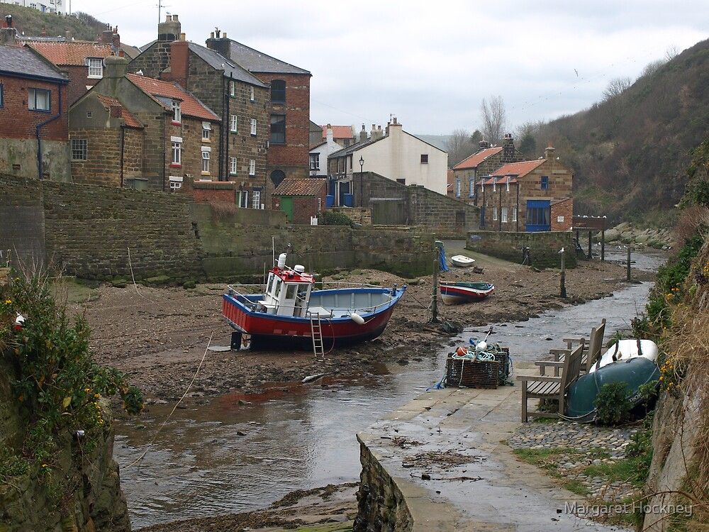 Staithes - North Yorkshire by Margaret Hockney
