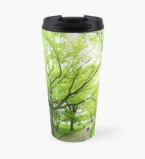 Lush Trees in Central Park NYC Travel Mug