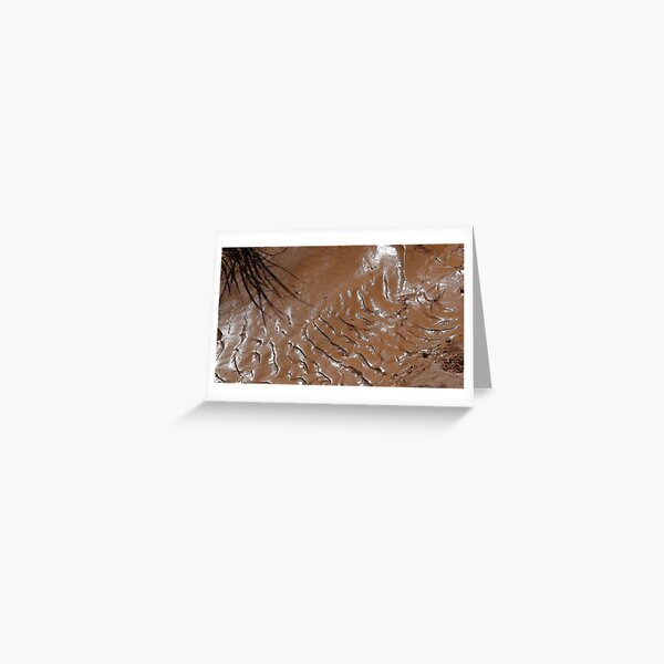 Milk Chocolate Mud Greeting Card