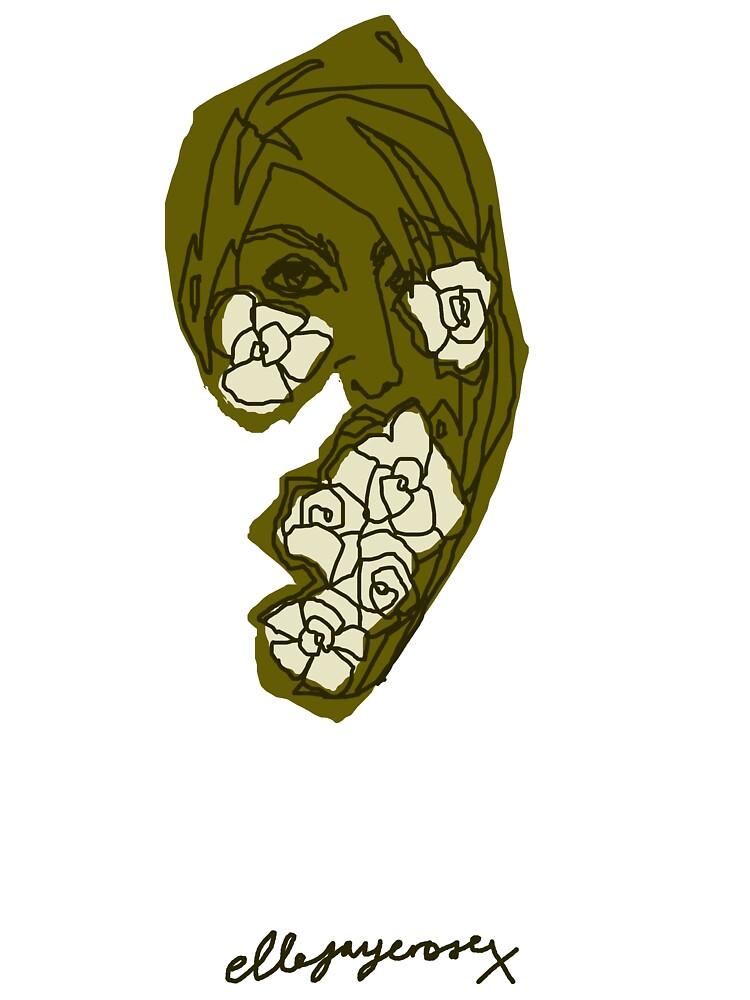 'Khaki Rose' by ellejayerose