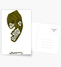 'Khaki Rose' Postcards