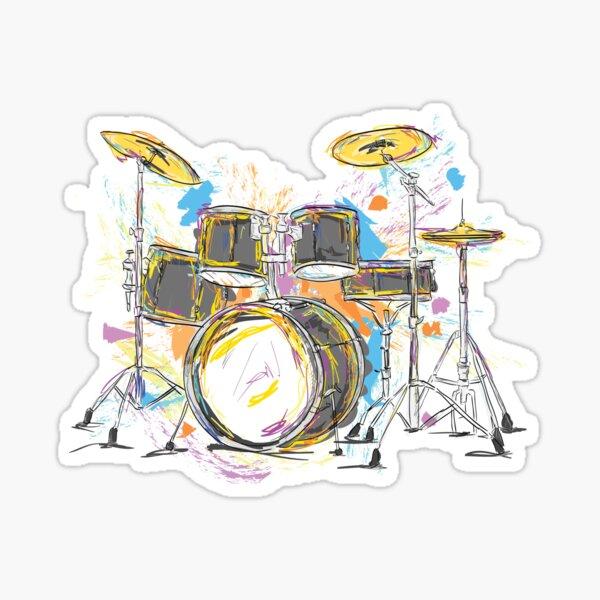 Drums Please Sticker