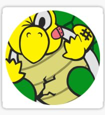Squished Koopa Sticker