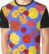 Bright and warm floral fashion print Graphic T-Shirt