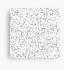 Alpha Bet 1.0 Canvas Print