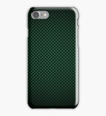 Green Carbon Fibre iPhone / Samsung Galaxy Case iPhone Case/Skin