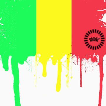 Jamaican Color Melt by illpilldesign
