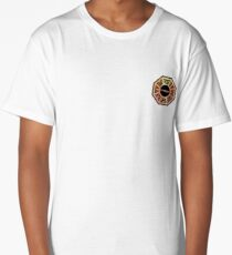Red, Orange and Yellow Dharma Initiative Sign Long T-Shirt