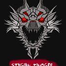 The Hell Wolf Wyvern by drakenwrath