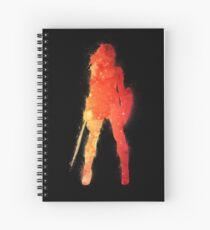 Fire Woman Spiral Notebook