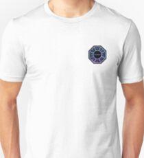 Purple and Blue Dharma Initiative Design Unisex T-Shirt