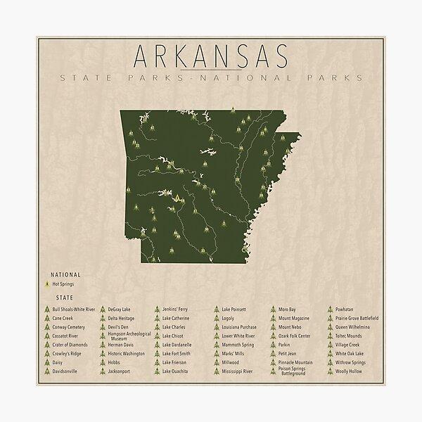 Arkansas Parks Photographic Print
