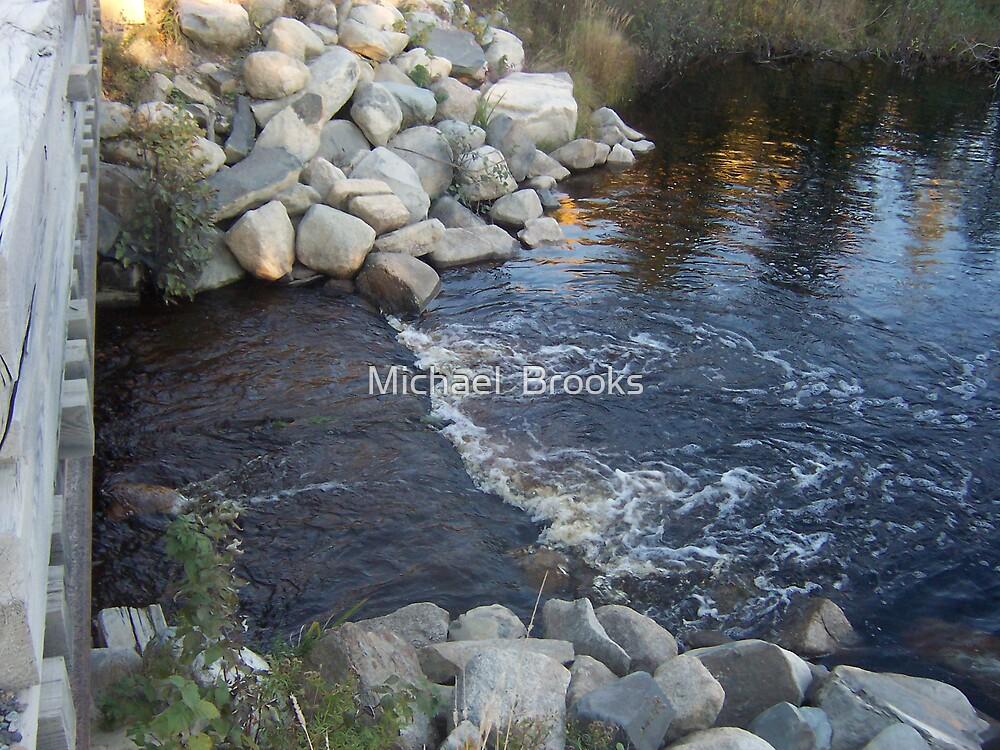 Moosehead Lake Stream by Michael  Brooks