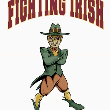 Fighting Irish T-Shirt by CheDean