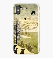 Explore Bruegel Hunters iPhone Case/Skin