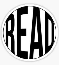 Read Circle Sticker