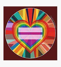 Equal Rainbow Union Photographic Print